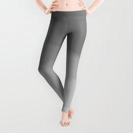 Gray Watercolor Ombre (gray/white) Leggings