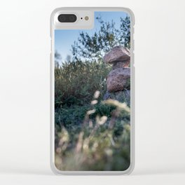 Rock Stacking Clear iPhone Case