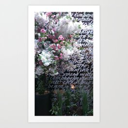 At the Mayfair florist III Art Print