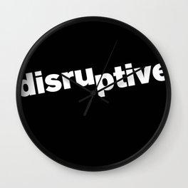 Disruptive Wall Clock