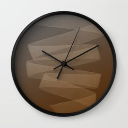 Abstract forms 32 Wall Clock