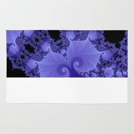 Fabulous Fractals - Blue Shells Rug