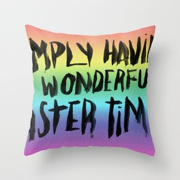 EASTERTIME Throw Pillow