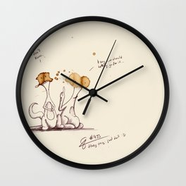 coffeemonsters 493 Wall Clock