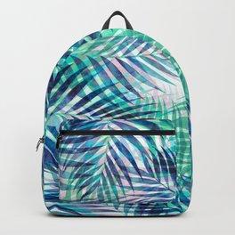 Palm Leaves - Indigo Green Backpack