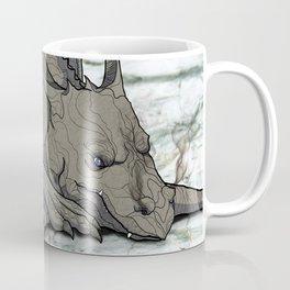 Grey Dragon Coffee Mug