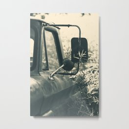 Abandoned Vintage Pick-Up Truck Metal Print
