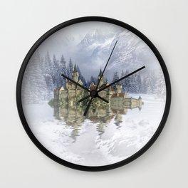 The snow palace Wall Clock