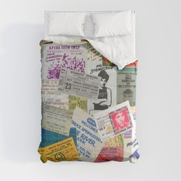 Concert Ticket Stub Backstage Passes - The Boss Comforters