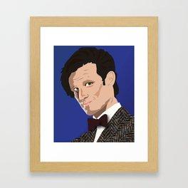 Trust Me, I'm The Doctor Framed Art Print