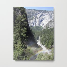Mist Trail Metal Print