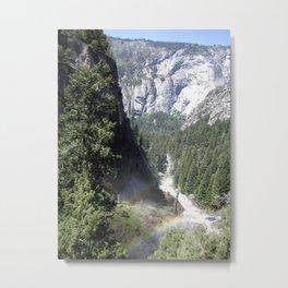 Mist Trail Metal Print