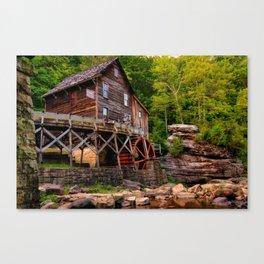 Glade Creek - Cooper's Mill Canvas Print
