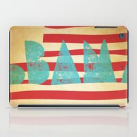 obama iPad Cases featuring oBAMa by Josh Franke