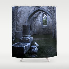 What lies in ruin Shower Curtain