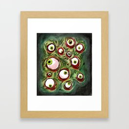Eyes!! Framed Art Print