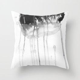 Rain etude Throw Pillow