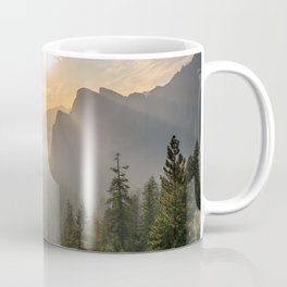 Morning Yosemite Landscape Coffee Mug