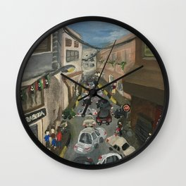 When in Libya Wall Clock