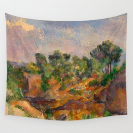 "Paul Cezanne ""Bibémus"" Wall Tapestry"
