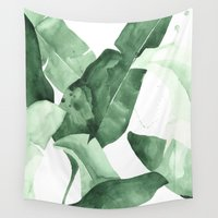 calm Wall Tapestries featuring Beverly II by THE AESTATE