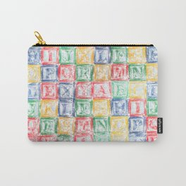 Children's Blocks Carry-All Pouch