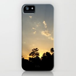 Woodies Sunset iPhone Case