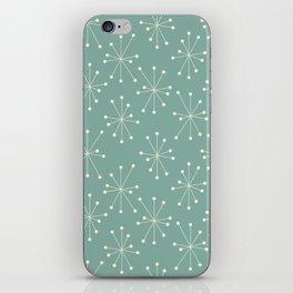 Atomic Stars, Mid Century Modern iPhone Skin
