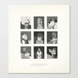 Super Mercredi Bros Heroes (5/8) Canvas Print