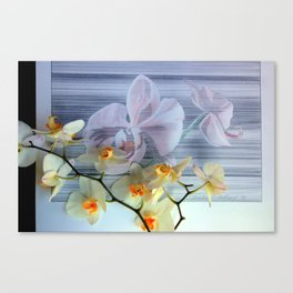 Reading Me Front To Back Canvas Print