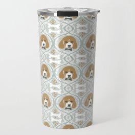 dapperific dog Travel Mug