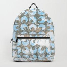 New Tendances dark marble Backpack