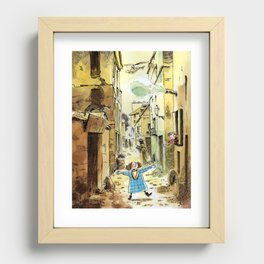 Happiness Recessed Framed Print