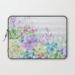Summer Succulents Laptop Sleeve