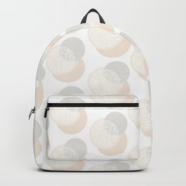 Minimalist Geometric IV, Pattern Print Backpack