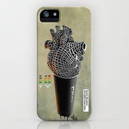CRZN Dynamic Microphone - 002 iPhone Case