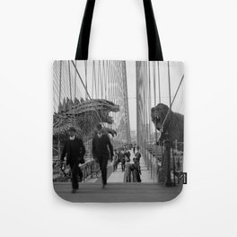 Old Time Godzilla vs. King Kong Tote Bag