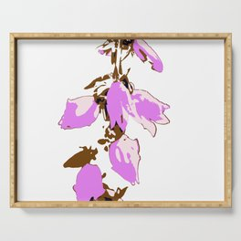 Crzy Harebell Serving Tray