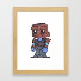 Woodie  Framed Art Print