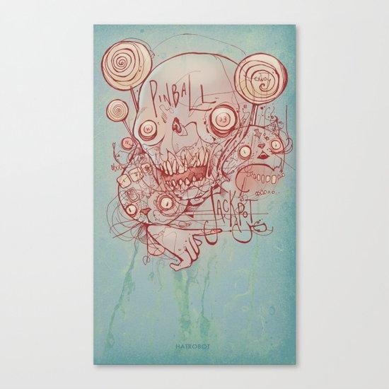 Pinball Jackpot Canvas Print