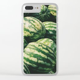 Watermelons Clear iPhone Case