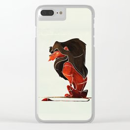 Lion 3 Clear iPhone Case