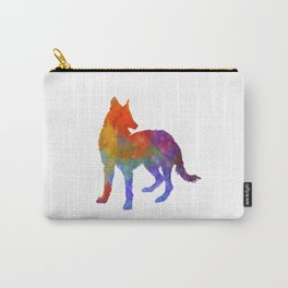 Portuguese Warren Hound in watercolor Carry-All Pouch