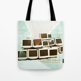 Discard Land Tote Bag
