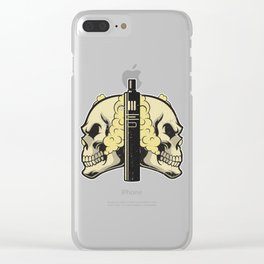 Cloud Chaser - Vaping Skull Clear iPhone Case