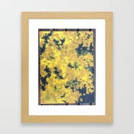 Flowerimg tree Framed Art Print