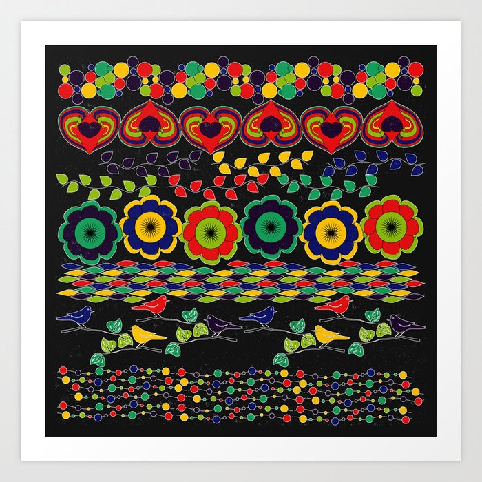 Nature in Patterns Art Print