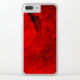 Vulcan Fury V Clear iPhone Case