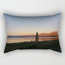 Sunset at Lake Tekapo Rectangular Pillow