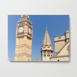 Big Ben, London's Finest Metal Print